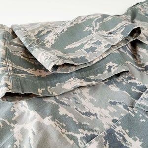 Air Force Pants - Military Digital ACU Fatigues Pants DSCP Size 10 S